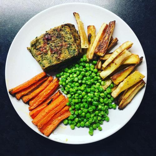Nut Roast Dinner